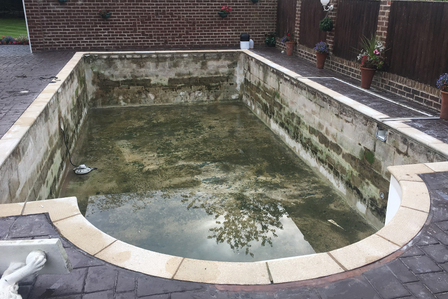 Pool Before2 900 Crystal Leisure
