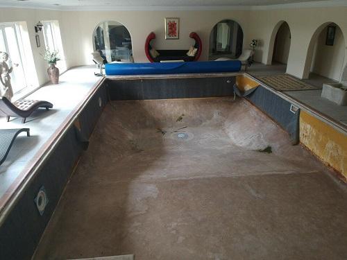 Pool Refurbishment Before 1